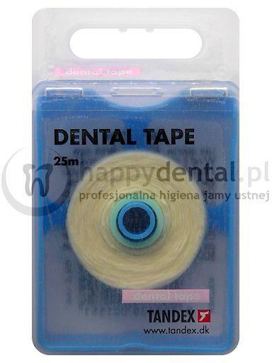 TANDEX Dental Tape 25m - miętowa taśma dentystyczna