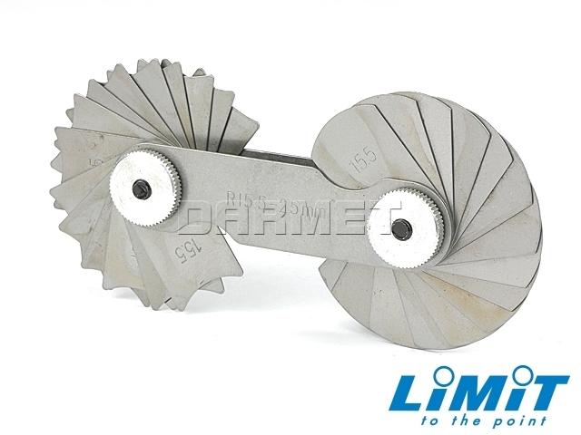 Promieniomierz; 15,5-25 mm (15+15 płytek)- Limit (2584-1206)