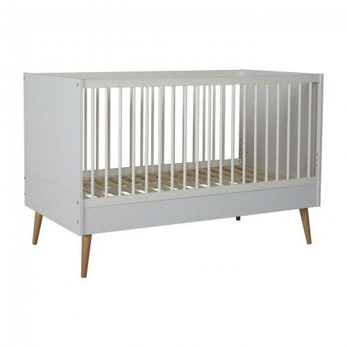 Łóżeczko niemowlęce Quax Cocoon Białe 140x70