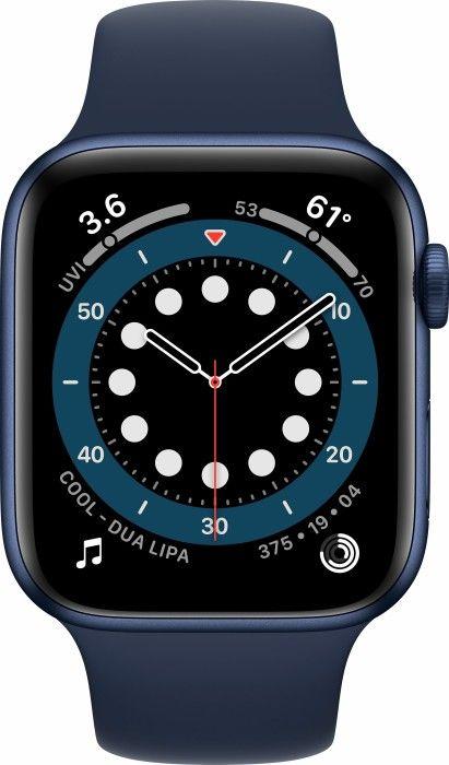 Apple Watch Series 6 GPS 44mm (niebieski-sport) M09A3WB/A.