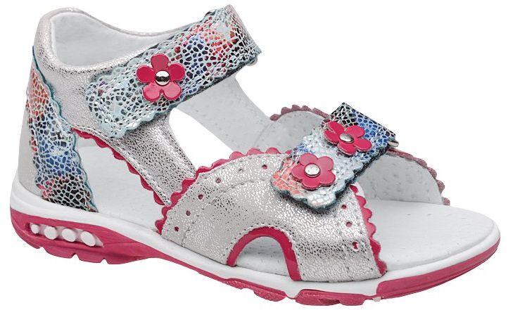Sandałki dla dziewczynki KORNECKI 4949 Srebrne Sandały