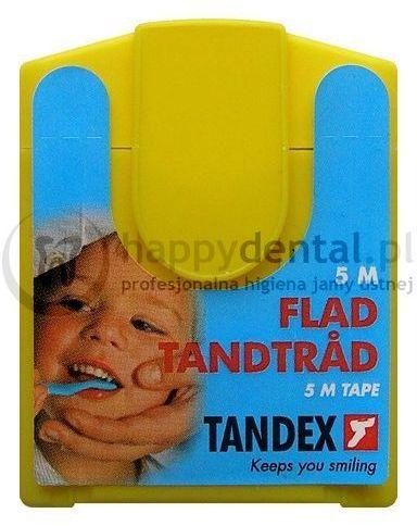 TANDEX Dental Tape 5m - miętowa taśma dentystyczna (MAŁA)