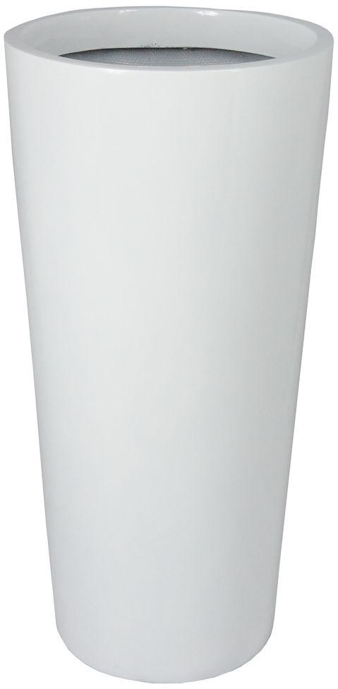 Donica z włókna szklanego D208C biały połysk