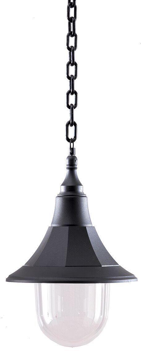 Lampa wisząca zewnętrzna Shannon CHAIN Elstead Lighting dekoracyjna oprawa w kolorze czarnym