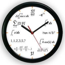 Zegar kolorowy matematyka #3
