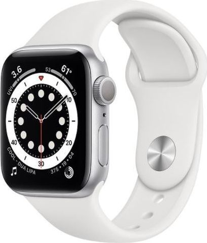 Apple Watch Series 6 GPS 44mm Biały M00D3WB/A]