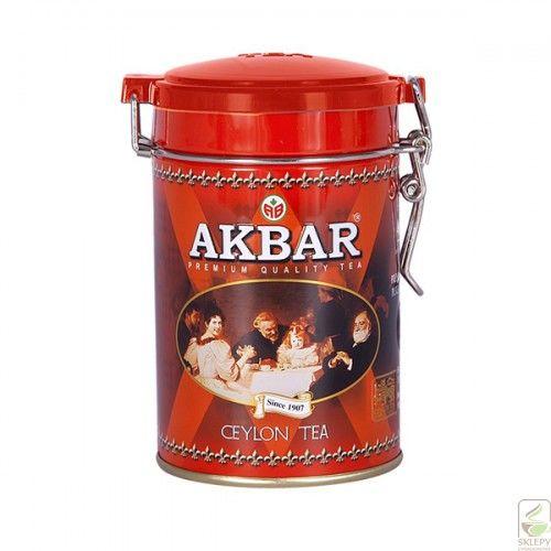 Akbar Ceylon 100g liść puszka
