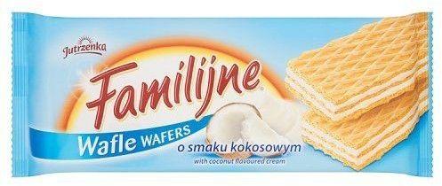 Ciastka Wafle Familijne Kokosowe