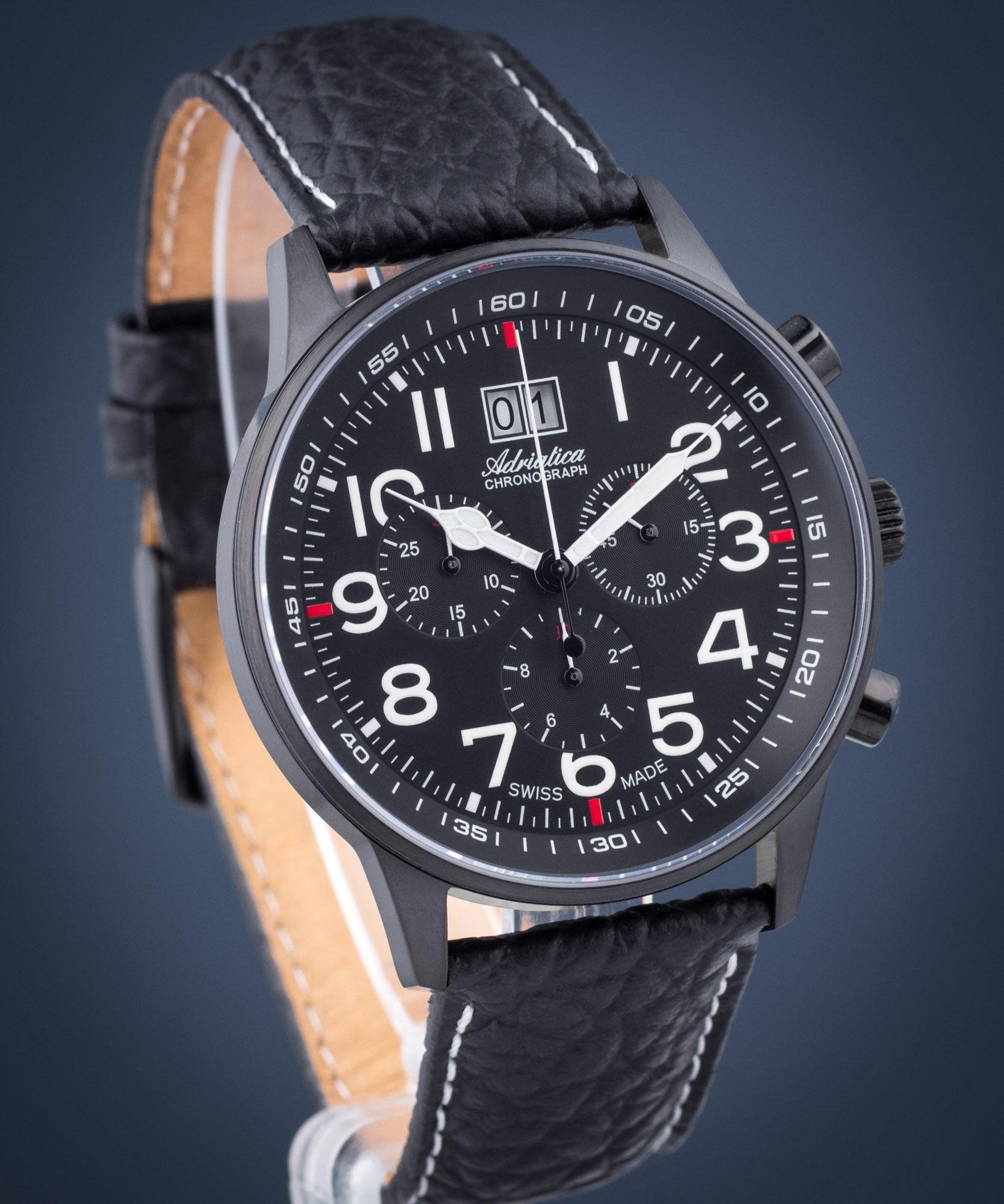 Zegarek męski Adriatica Aviator Chronograph