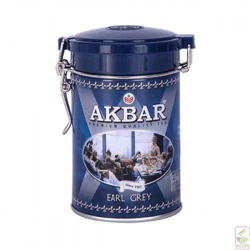 Akbar Earl Grey 100g liść puszka