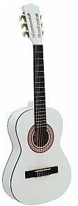Dimavery AC-303 classical guitar 1/2, Biała gitara klasyczna