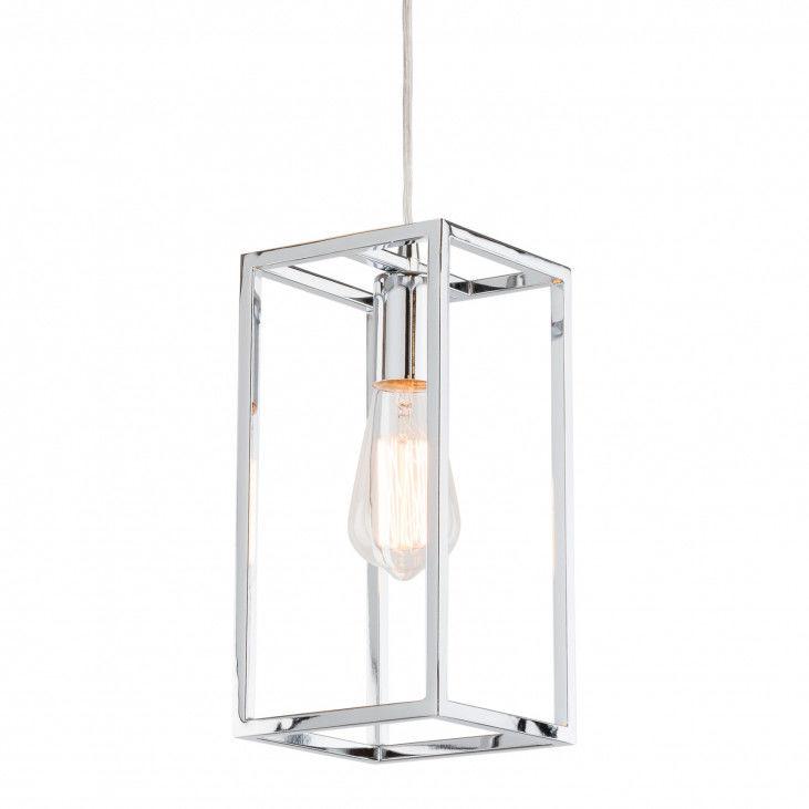 Lampa wisząca Sigalo MD-BR4366-D1 CH Italux chromowa dekoracyjna lampa wisząca