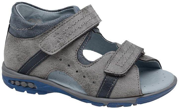 Sandałki dla chłopca KORNECKI 4958 Popielate Szare