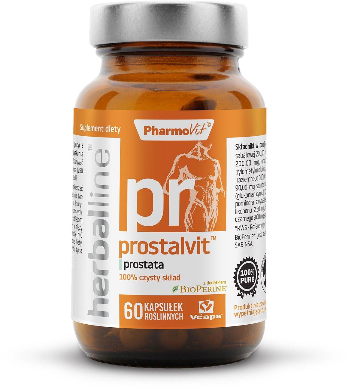 Prostalvit Prostata 6w1 (60 kaps) Herballine Pharmovit