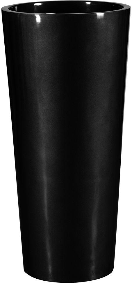 Donica z włókna szklanego D208C czarny połysk