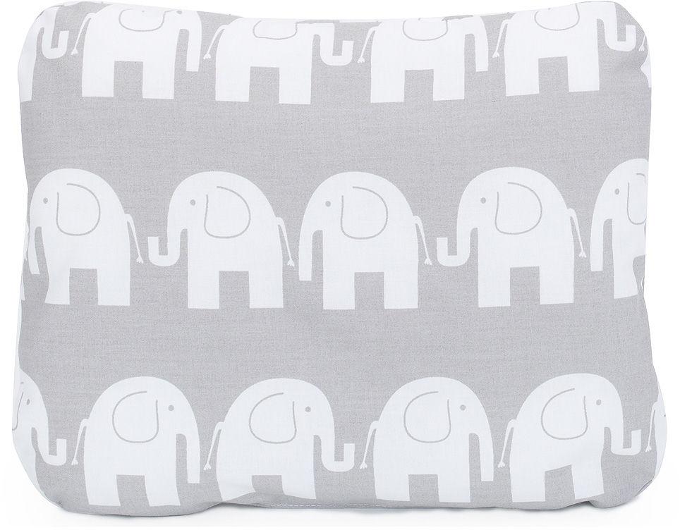 MAMO-TATO Poduszka podusia przytulanka z wypełnieniem  30x40 - Słoń szary