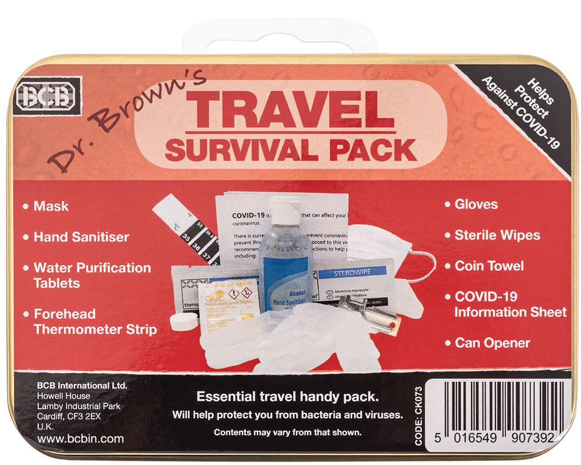 Niezbędnik COVID19 - zestaw przetrwania BCB Travel Pack (CK073)