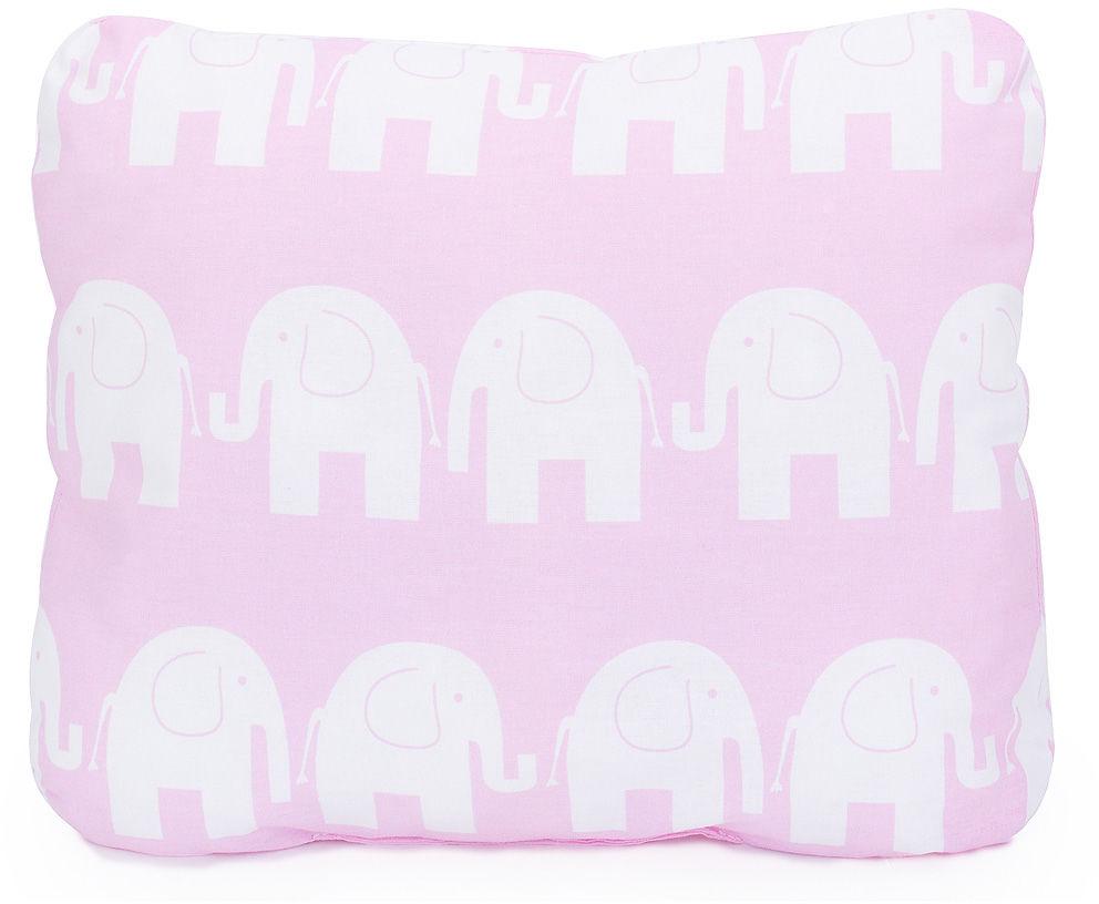 MAMO-TATO Poduszka podusia przytulanka z wypełnieniem  30x40 - Słoń różowy