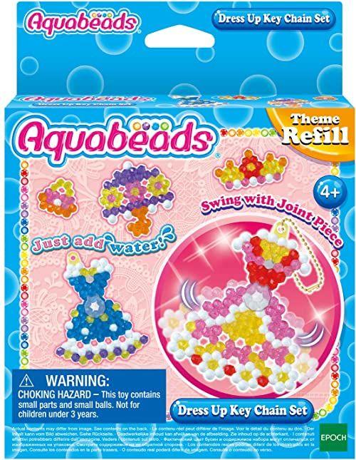 Aquabeads Refill sukienka imprezowa, kreatywna aktywność, 31362, wielokolorowa, rozmiar uniwersalny