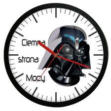 Zegar naścienny ciemna strona mocy