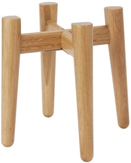 Stojak na doniczkę GoodHome drewniany 12 cm