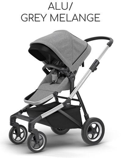 Thule Sleek Aluminium Frame - Alu/ Grey Melange