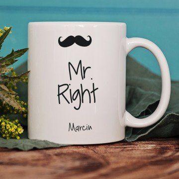 Mr. Right - Personalizowany Kubek