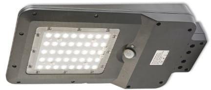 Oprawa, lampa solarna LED STREET z czujnikiem 15W IP65 - biała neutralna