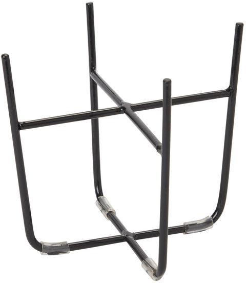 Stojak stalowy GoodHome 12 cm czarny