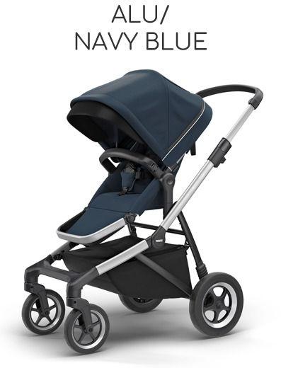 Thule Sleek Aluminium Frame - Alu/ Navy Blue