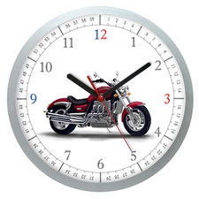 Zegar ścienny Czas na motocykl #2