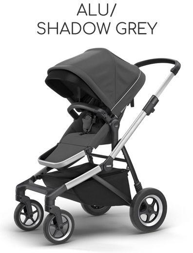 Thule Sleek Aluminium Frame - Alu/ Shadow Grey