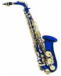 Dimavery SP-30 Eb saksofon altowy, blue