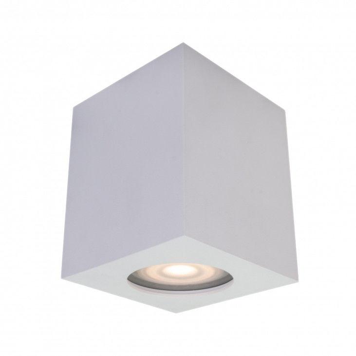 Lampa sufitowa Fabrycio IT8003S1-WH Italux biała nowoczesna lampa na sufit