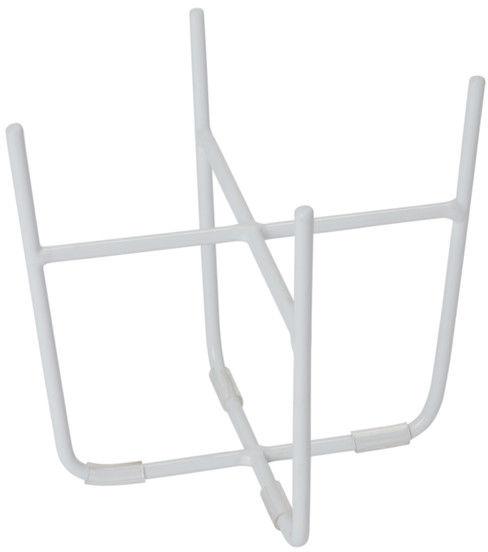 Stojak stalowy GoodHome 12 cm biały