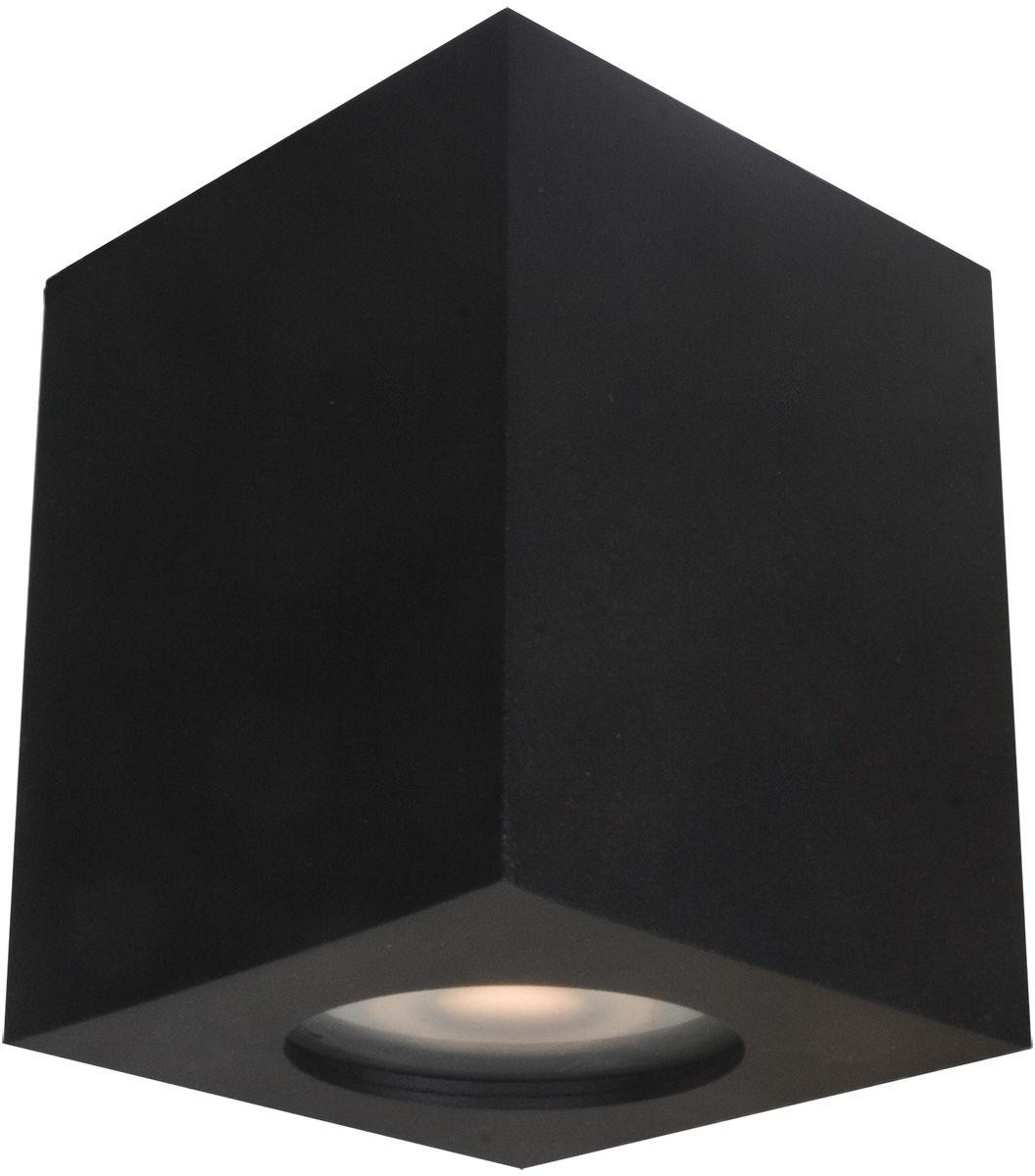 Lampa sufitowa Fabrycio IT8003S1-BK Italux czarna nowoczesna lampa na sufit
