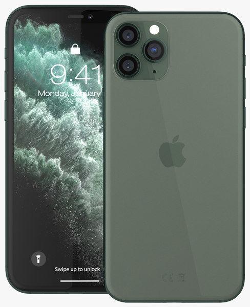 Apple iPhone 11 Pro Max 256GB Zielony MGDE3PM/A
