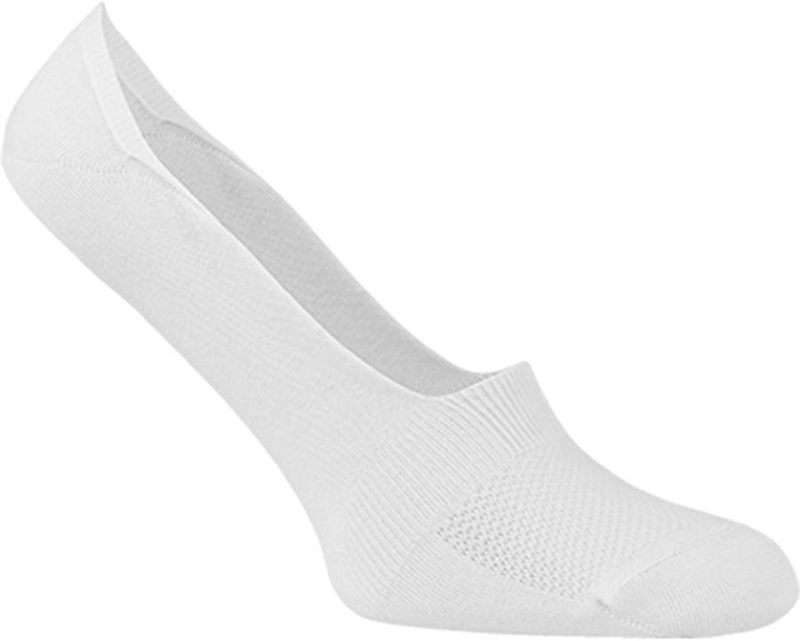 Stopki męskie bawełniane niewidoczne, z silikonową zapiętką - antybakteryjne