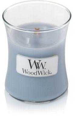 WOOD WICK - mała świeca z drewnianym knotem - Fireside 8 X 7 cm