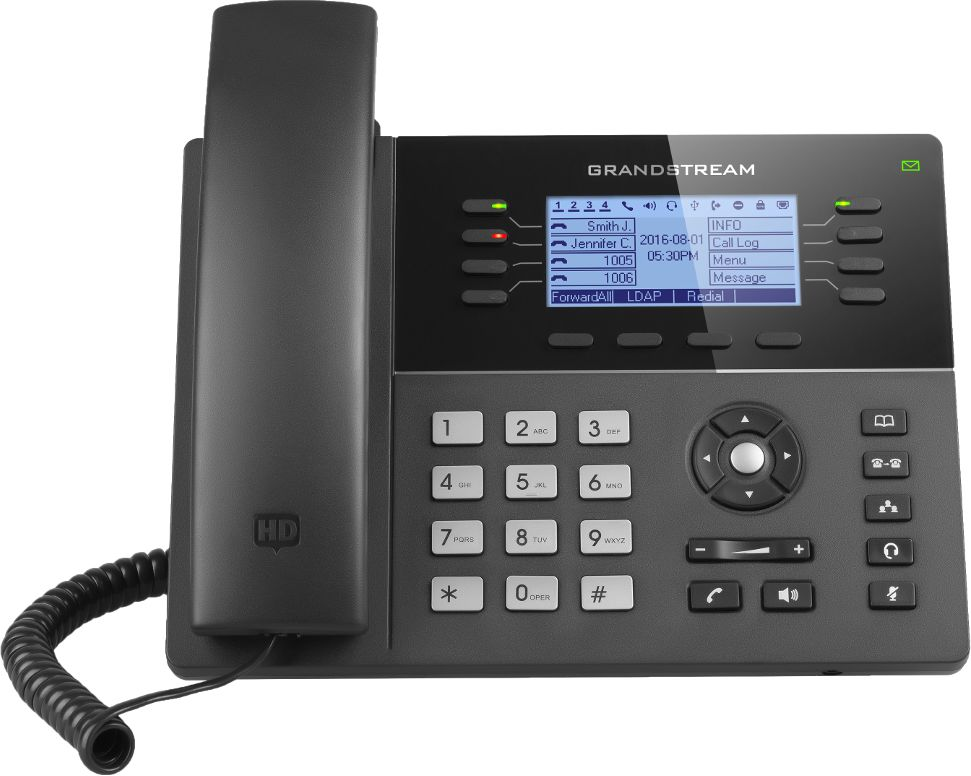 Grandstream GXP1782HD telefon VoIP - 4 konta SIP PoE