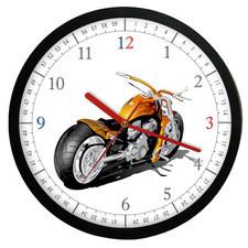 Zegar ścienny Czas na motocykl #3