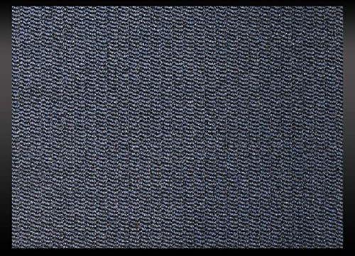 ID Mat 608005 Cahors/Florac mata podłogowa, włókno polipropylenowe/PCW, 80 x 60 x 0,67 cm, niebieska, 60 x 80 cm