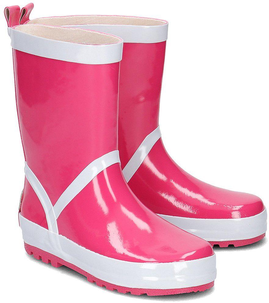 Playshoes - Kalosze Dziecięce - 184310 18-PINK - Różowy