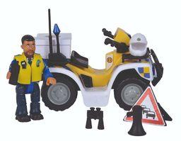 Simba 109251093038 Strażak Sam Quad Policyjny Z Figurką 109251093038