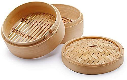 Chio Parowar, bambus, beżowy, 25 cm, 33 części