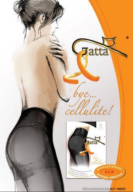 GATTA BYE CELLULITE szorty modelujące
