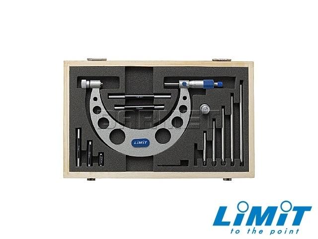 Mikrometr zewnętrzny z wymiennymi trzpieniami 0-150MM - Limit (9544-0103)