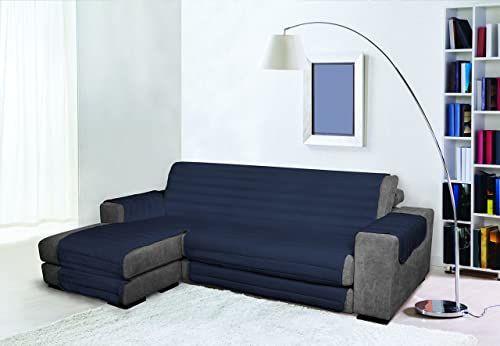 Trendy Wodoodporna i podwójna pokrywa na sofę, ciemnoniebieska 190 cm, 100% mikrofibra