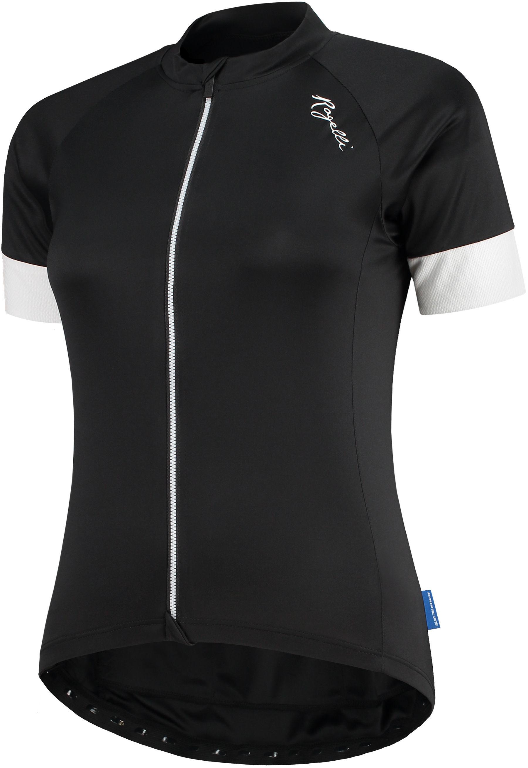 ROGELLI Modesta 010.116 damska koszula rowerowa czarny-biały Rozmiar: S,Rogelli_010.116_Modesta