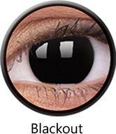 Crazy Lens RX - BlackOut, 2 szt.